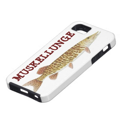 I Phone Case with Barred Muskie iPhone 5 Cases