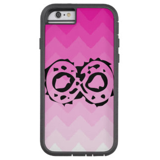 i phone case with degrees of pink color