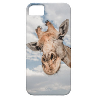 I Phone Case with Giraffe Face
