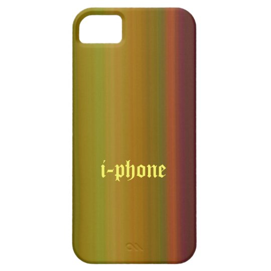 i-phone case with woody color design.