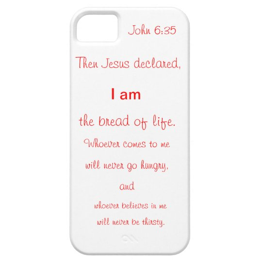 I phone cover with scripture
