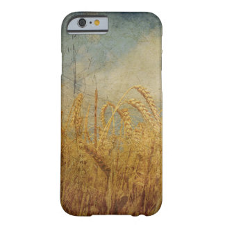 I-phone Grundge Golden Blue Wheat Nature Beauty Barely There iPhone 6 Case