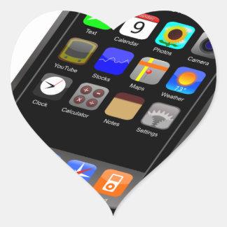 I-Phone Heart Sticker