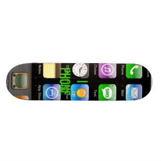 I phone skateboard deck