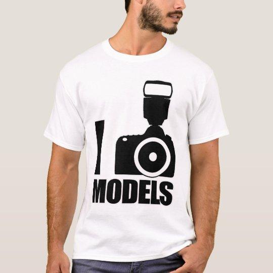I Photo Models Tee