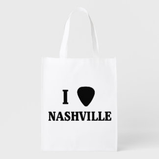 I Pick Nashville Grocery Bag