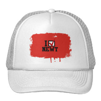 I PICK NEWT MESH HATS