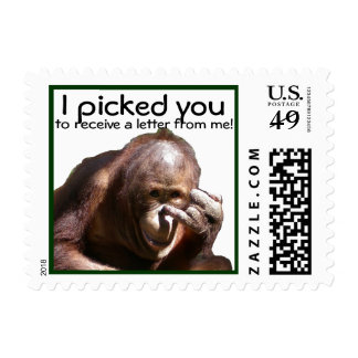 I Picked You Postage