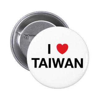 I Pin de la insignia de TAIWÁN del CORAZÓN