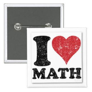 I Pin de la matemáticas del corazón