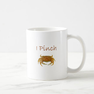 """I Pinch"" Rock Crab Logo Coffee Mug"