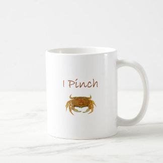 I Pinch Rock Crab Logo Mugs