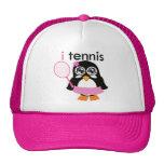 i pingüino del tenis gorro de camionero