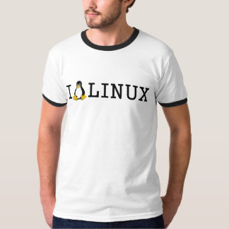 I pingüino Linux Playeras