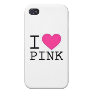 I ♥ PINK! CASE FOR iPhone 4