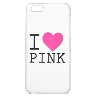 I ♥ PINK! iPhone 5C COVER