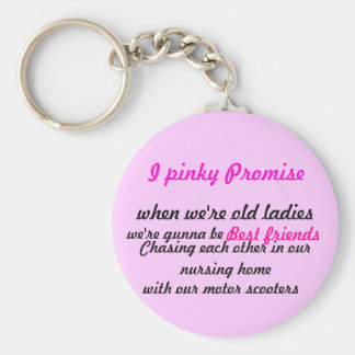 I pinky Promise Key Chain