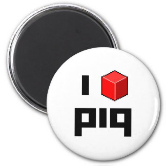 I <> piq imán redondo 5 cm