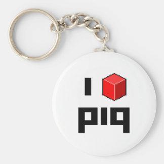 I <> piq llavero redondo tipo pin