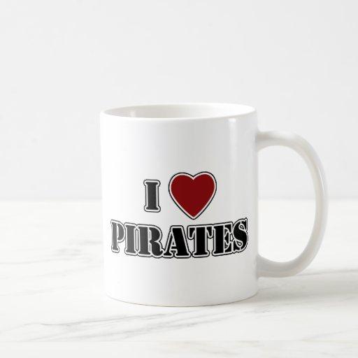 I piratas del corazón taza de café