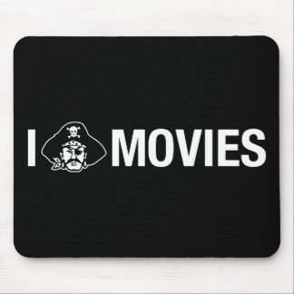 i pirate movies mouse pad