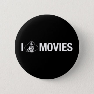 i pirate movies pinback button