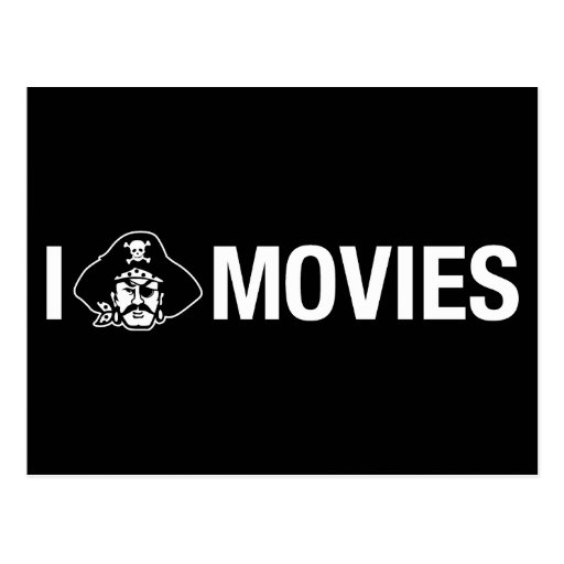 i pirate movies post cards