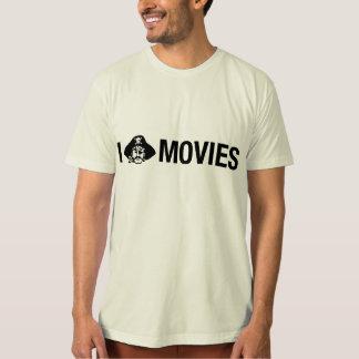 i pirate movies tee shirt
