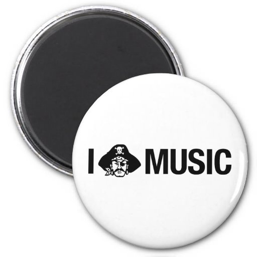 i pirate music magnets