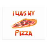 I pizza de Luvs Postal