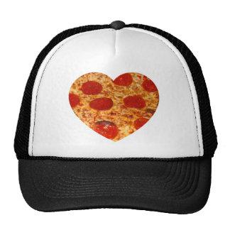 I pizza del corazón gorras de camionero