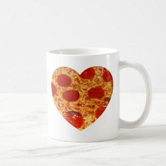 I pizza del corazón taza