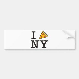 I pizza NY Bumper Sticker