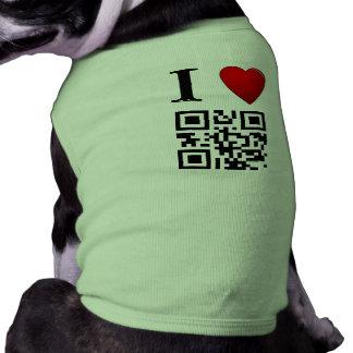 I plantilla de la camiseta del mascota del código  camisetas de perrito