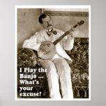 I Play Banjo ... Poster