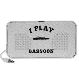 I Play Bassoon Travel Speaker