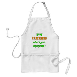 I Play Castanets Adult Apron