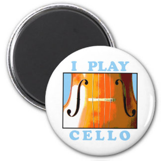 I Play Cello Magnet