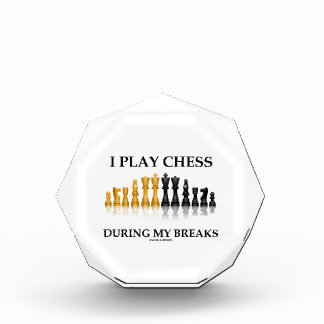 I Play Chess During My Breaks (Reflective Chess) Award
