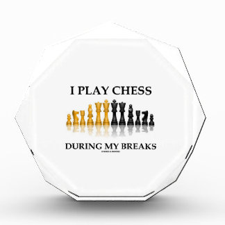 I Play Chess During My Breaks (Reflective Chess) Awards