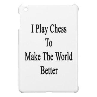 I Play Chess To Make The World Better iPad Mini Covers