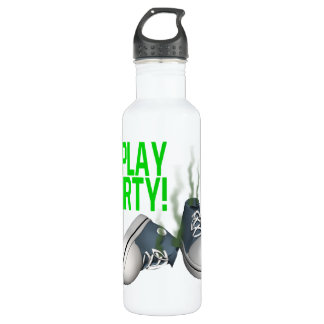 I Play Dirty 24oz Water Bottle