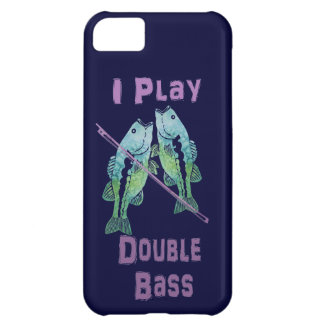 I Play Double Bass Fish Cover For iPhone 5C