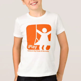 i Play Girl Orange (transparent) T-Shirt