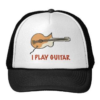 I play guitar trucker hat