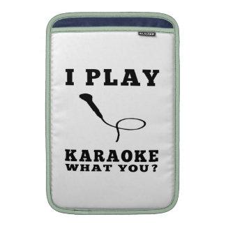 I Play Karaoke MacBook Air Sleeve