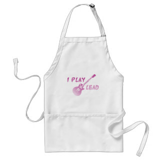 I Play Lead Guitar Adult Apron