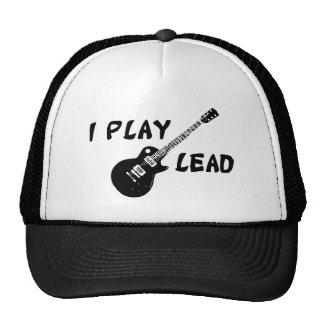 I Play Lead Guitar Hats