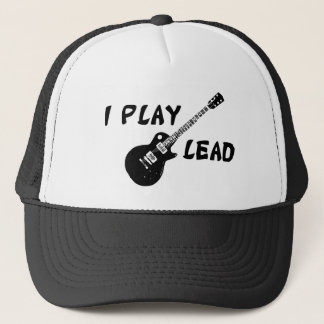 I Play Lead Guitar Trucker Hat