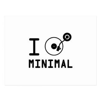 I play Minimal MNL / I love Minimal MNL / DJ  Viny Postcard